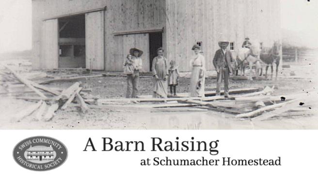 Barn Raising BW letter